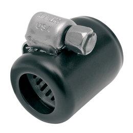 Namz Colored Hose Clamps For 3/8 Inch Oil Line 6 Pack Black For Harley-Davidson