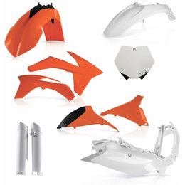 Acerbis Full Plastic Kit For KTM Original 2205283593 Orange