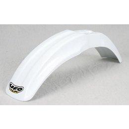 UFO Plastics Front Fender White For Kawasaki KX 80 85 100 91-09