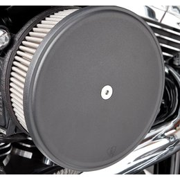 Black Arlen Ness Big Sucker Stage Ii Air Filter Kit W Cover Ss Filter For Hd Xl