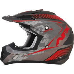 AFX FX17 Matte Factor Full Face Helmet Red