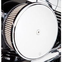 Chrome Arlen Ness Big Sucker Stage Ii Air Filter Kit W Cover Ss Filter For Hd Xl