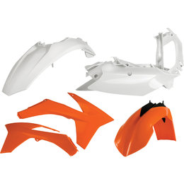 Acerbis Full Plastic Kit For KTM Original 2205473593 Orange