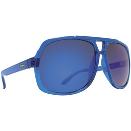 Navy Translucent/blue Chrome Dot Dash Youth Vintage Collection Young Turks Sunglasses Navy Trans Blue Chrome