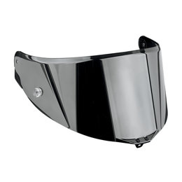 AGV Race 2 Replacement Anti-Scratch Helmet Shield Visor For Corsa Pista GP Silver