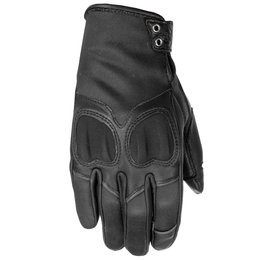 Highway 21 Womens Vixen Leather Gloves Black