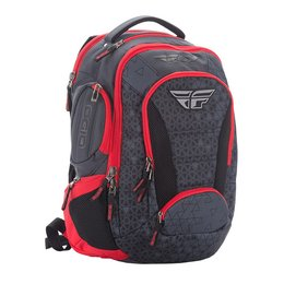 Fly Racing Fly By Ogio Bandit Backpack Black Red Black