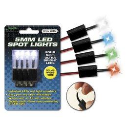White Street Fx 12v Led Spot Lights 5mm Peel And Stick