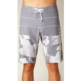 Fox Racing Mens Ledge Bruce Irons Signature Boardshorts LS Grey