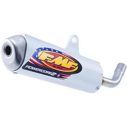 FMF Racing PowerCore 2 Silencer Kawasaki KTM Stainless Aluminum 025199 Unpainted