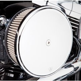 Chrome Arlen Ness Big Sucker Stage Ii Air Filter Kit W Cover Ss Filter For Hd