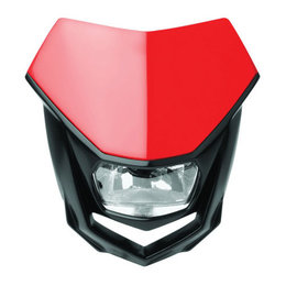 Red Polisport Halo Headlight 35 Watt Universal