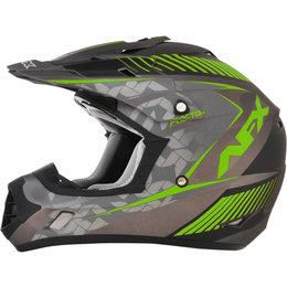AFX FX17 Matte Factor Full Face Helmet Green