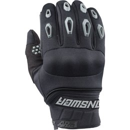 Answer Racing Mens AR-5 AR5 Mud Pro Gloves Black