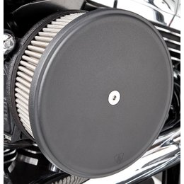 Black Arlen Ness Big Sucker Stage Ii Air Filter Kit W Cover Ss Filter For Harley