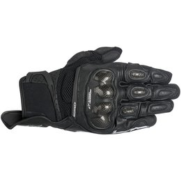 Alpinestars Womens Stella SP-X SPX Air Carbon AC Touchscreen Textile Gloves Black