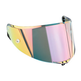 AGV Race 2 Replacement Anti-Scratch Helmet Shield Visor For Corsa Pista GP Multicolored
