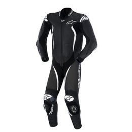 Black, White Alpinestars Mens Gp Tech 1 Piece Leather Suit 2015 Us 38 Eu 48 Black White