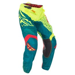 Fly Racing Mens Kinetic Mesh Trifecta Pants Yellow