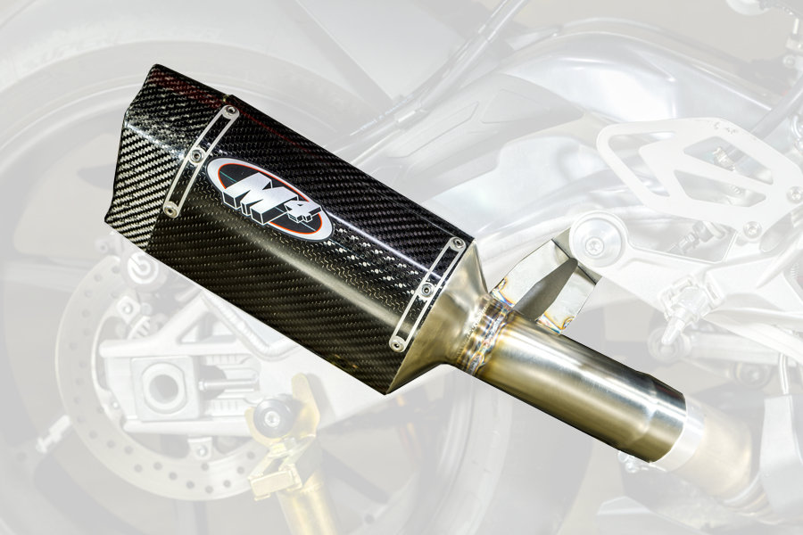 $448 00 M4 Tech One Slip-On Exhaust For BMW S1000RR #262840