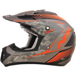 AFX FX17 Matte Factor Full Face Helmet Orange