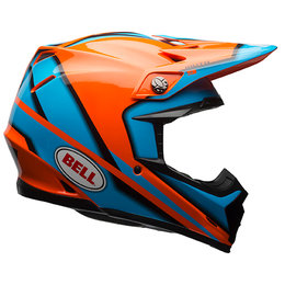 Bell Powersports Moto-9 Spark SNELL DOT ECE Approved MX Motocross Helmet Orange