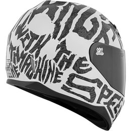 Speed & Strength SS700 Rage With The Machine Full Face Motorcycle Helmet White