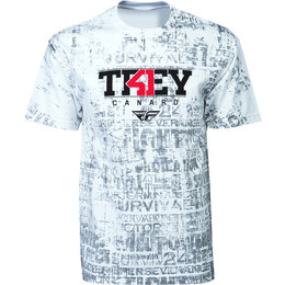 White Fly Racing Mens Trey Canard T-shirt 2015