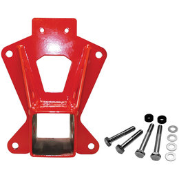 Dragonfire Racing Rear Receiver Hitch For Polaris RZR XP 1000 Red 16-1171 Red