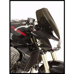 Zero Gravity Double Bubble Windscreen Dark Smoke For Kawasaki Z1000 10-11