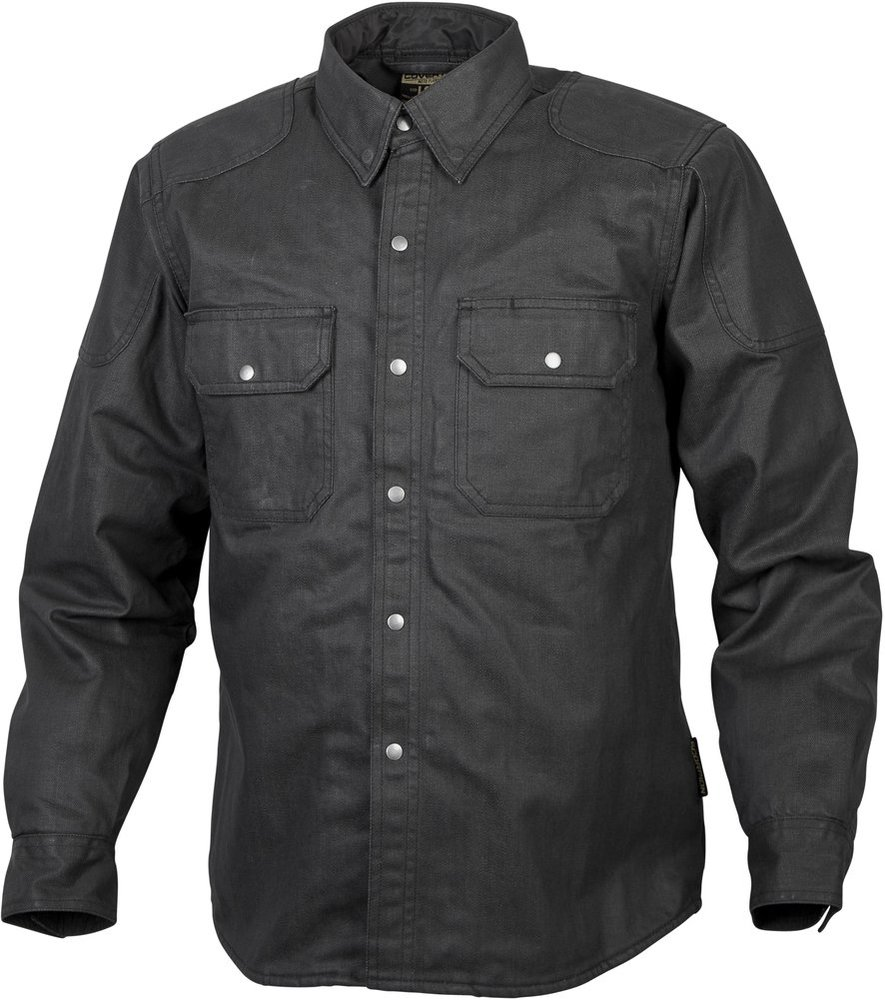 Speed and Strength Mens Rust and Redemption Armored Moto Shirts,Medium,Black//Grey