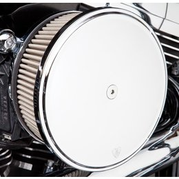 Chrome Arlen Ness Big Sucker Stage Ii Air Filter Kit W Cover Ss Filter Twin Cam