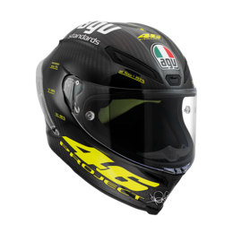 Carbon Fiber Agv Mens Pista Gp Project 46 Full Face Helmet 2013 -large