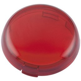 Red Bikers Choice Bullet Turn Signal Replacement Lens