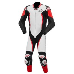 White, Black, Red Alpinestars Mens Gp Tech 1 Piece Leather Suit 2015 Us 38 Eu 48 White Black Red