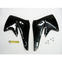 Acerbis Radiator Shrouds Black For Kawasaki KX250F Suzuki RMZ250