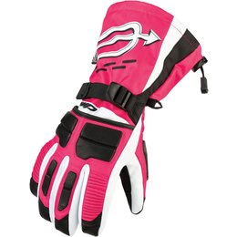 Arctiva Womens Comp Insulated Snowmobile Gloves Black