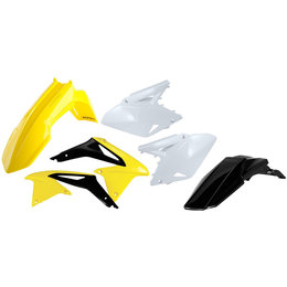 Acerbis Full Plastic Kit For Suzuki RMZ450 2008-2013 Original 2113823914 Yellow