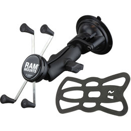 RAM Mount Twist-Lock Suction Mount With X-Grip IV Cradle RAM-B-166-UN10 Black