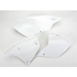 UFO Plastics Side Panel White For Suzuki RM-Z250 2010