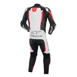 White, Black, Red Alpinestars Mens Gp Tech 1 Piece Leather Suit 2015 Us 42 Eu 52 White Black Red