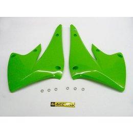 Acerbis Radiator Shrouds Green For Kawasaki KX250F Suzuki RMZ250