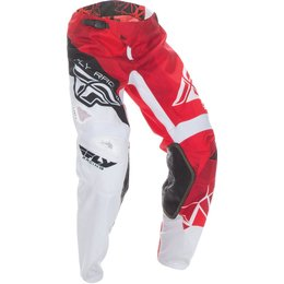 Fly Racing Youth Boys Kinetic Crux Pants Red