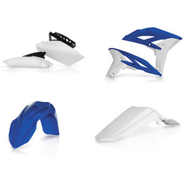 Acerbis Full Plastic Kit For Yamaha YZ250F 2010-2013 Original Blue 13 2171893713 Blue