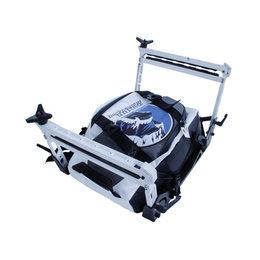 Skinz Tsaina Rack Waterproof Snowmobile Bag Black BUTRP900-BK Black