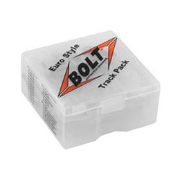 Bolt MC Euro Style Track Pack Factory Style Hardware Kit Steel Metallic
