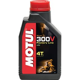 Motul 300V 4T Factory Line Offroad Synthetic 4-Stroke Engine Oil 15W-60 1 Liter