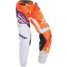 Fly Racing Youth Boys Kinetic Crux Pants Orange