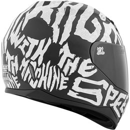 Speed & Strength SS700 Rage With The Machine Full Face Motorcycle Helmet Black