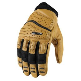 Tan Icon Superduty 2 Leather Gloves